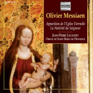 Messiaen, O. : Organ works. Lecaudey, J.P.