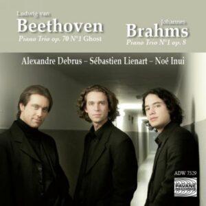Beethoven/Brahms : Piano trios . Trio Carlo Van Neste.