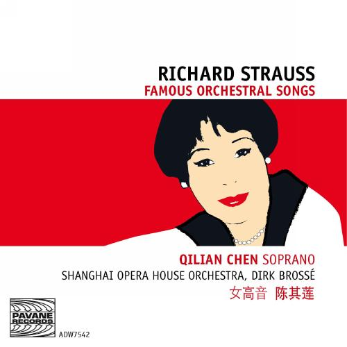 Strauss, R. : Famous orchestral songs. Chen/Brossé/Shanghai Opera House Orchetra.