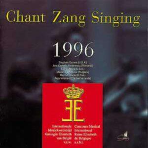 Queen Elizabeth Competition 1996 : Singing
