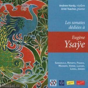 Sonates Dediées à Eugene Ysaÿe