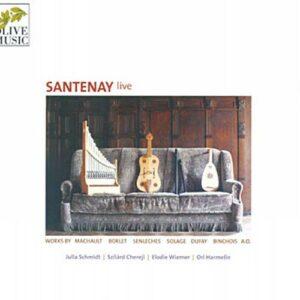 Santenay Live. Machault, Dufay, Borlet, Solage.
