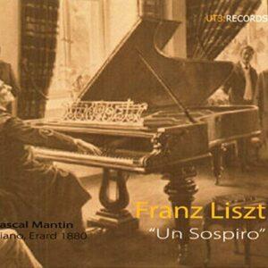 Liszt : Un Sospiro. Mantin