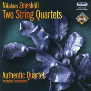 Fesca : Quatuor à cordes op. 1. Quatuor Authentic