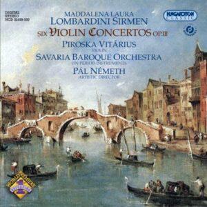 Lombardini : Concertos pour violon op. 3. Vitarius