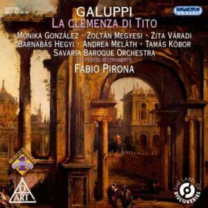 Galuppi : La clémence de Tito. Pirona.