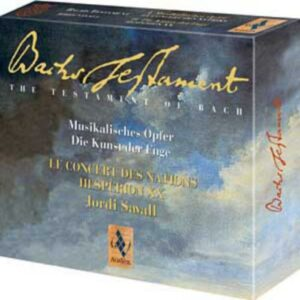 Le Testament musical de Bach - L'Offrande musicale & l'Art de la fugue