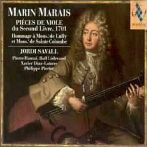 Marais - Pièces de viole, 2e livre (1701)