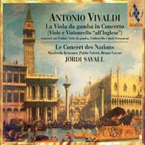 Vivaldi - Intégrale des concertos pour viole de gambe