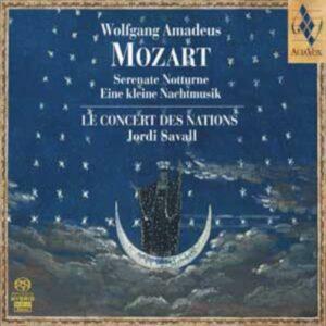 Mozart : Serenate Notturne, K. 239, Eine kleine Nachtmusik, K. 525