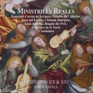 Jordi Savall :Ministriles reales.
