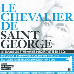 Saint-Georges : Intégrale des symphonie concertantes Vol.1. Malat.