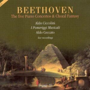 Beethoven : The Five Piano Concertos & Choral Fantasy