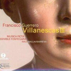 Guerrero : Villanescas vol. 3. Mallavibarrena.