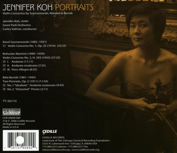 Jennifer Koh : Portraits