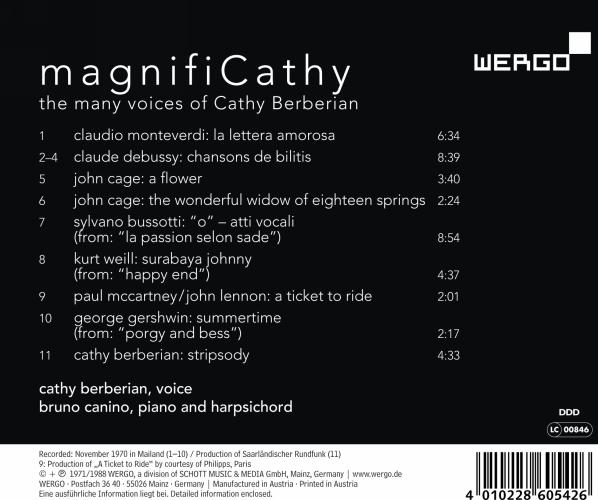 Berberian C. / MagnifiCathy