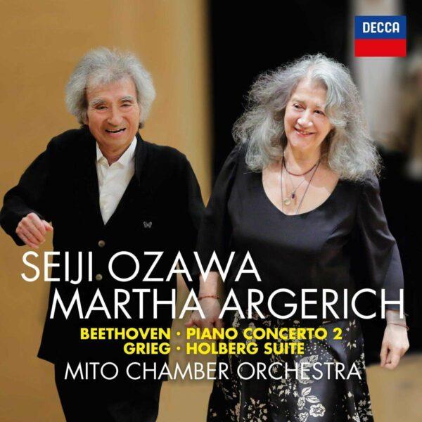 Beethoven: Piano Concerto No.2 / Grieg: Holberg Suite - Martha Argerich