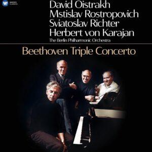 Beethoven: Triple Concerto (Vinyl) - Herbert von Karajan