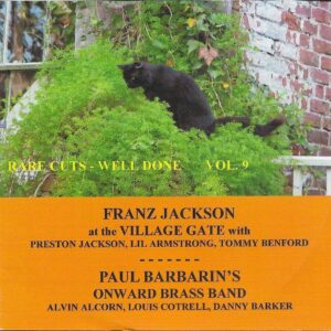 Well Done Vol. 9 - Franz / Paul Barbarin Jackson