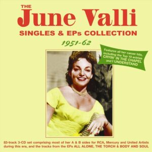 Singles & EPs Collection 1951-62 - June Valli
