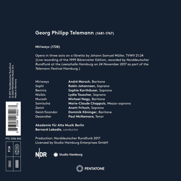 Telemann: Miriways - Akademie für Alte Musik Berlin
