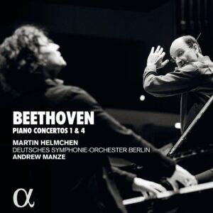 Beethoven: Pianos Concertos 1 & 4 - Martin Helmchen