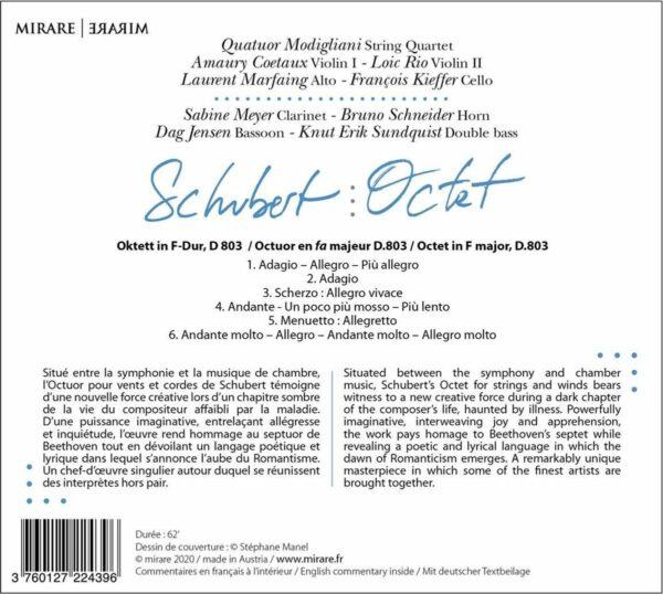Schubert: Octet - Sabine Meyer