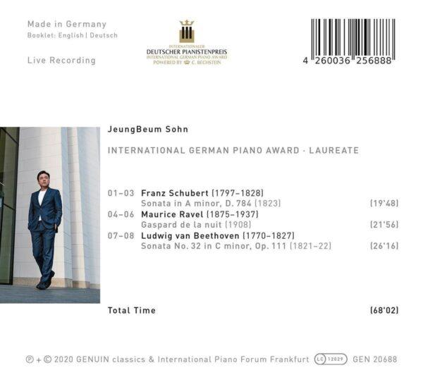 International German Piano Award, Laureate - JeungBeum Sohn