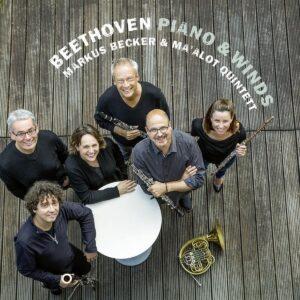 Beethoven, Piano & Winds - Markus Becker & Ma'alot Quintett