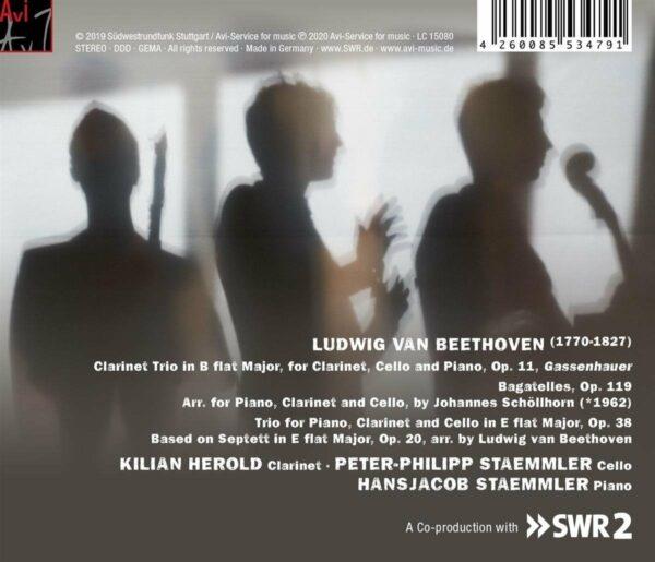 Composing Beethoven: Clarinet Trios - Kilian Herold