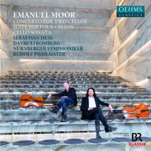 Emanuel Moor: Concerto For Two Cellos, Suite For Four Cellos, Cello Sonata - Sebastian Hess