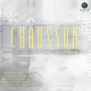 Chausson: Le Littéraire - Eléonore Pancrazi