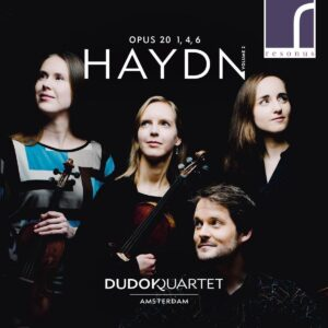 Haydn: String Quartets Op. 20, Nos.1, 4 & 6 Vol.2 - Dudok Quartet Amsterdam