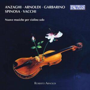 Contemporary Music For Solo Violin - Roberto Arnoldi