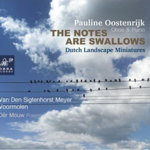 The Notes Are Swallows, Dutch Landscape Miniatures - Pauline Oostenrijk