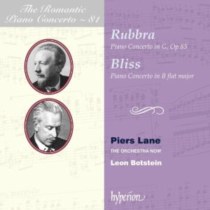 Rubbra / Bax / Bliss: Romantic Piano Concerto Vol. 81 - Piers Lane