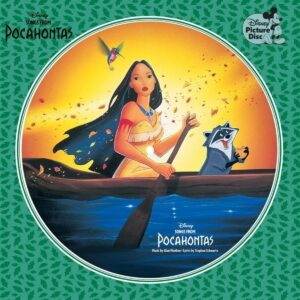 Songs From Pocahontas (Picture Disc) (OST) (Vinyl) - Alan Menken