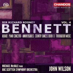 Richard Rodney Bennett: Orchestral Works Vol.3 - John Wilson