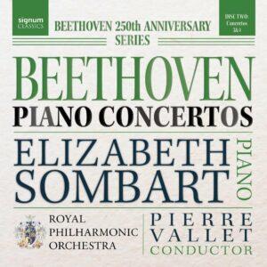 Beethoven: Piano Concertos Nos.3 & 4 - Elizabeth Sombart