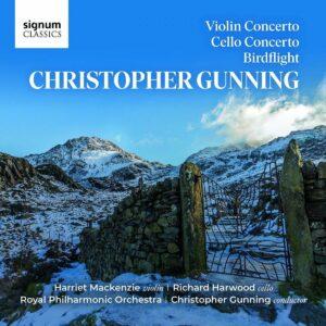 Gunning: Violin Concerto, Cello Concerto, Birdflight - Harriet MacKenzie