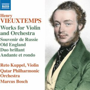 Henry Vieuxtemps: Works For Violin And Orchestra - Reto Kuppel