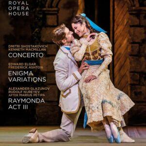 Shostakovich: Concerto / Elgar: Enigma Variations / Glazunov: Raymonda Act 3 - The Royal Ballet
