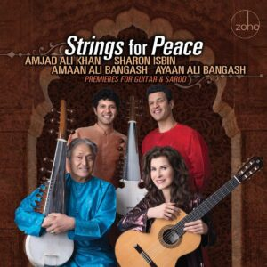 Strings For Peace: Premieres For Guitar & Sarod - Sharon Isbin