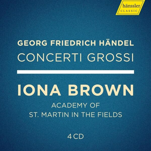 Handel, Concerti Grossi - Academy Of St. Martin In The Fields