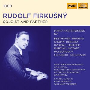 Soloist And Partner - Rudolf Firkusny