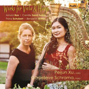 Works For Viola & Harp - Peijun Xu