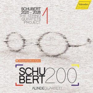 Schubert: The String Quartets Project Vol. 1 - Alinde Quartett
