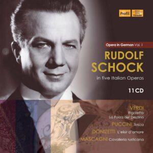 Rudolf Schock In Five Italian Operas (In German) - Rudolf Schock