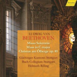 Beethoven: Sacred Choral Works - Helmuth Rilling