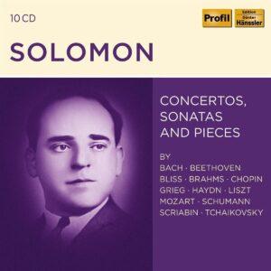 Concertos, Sonatas & Pieces - Solomon